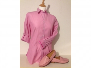 B.M.-company Blousemakers - Bluse Langarm - rosa