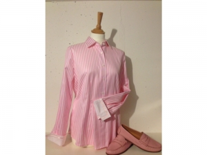 B.M.-company Blousemakers - Bluse Langarm - rosa..